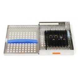 """Cassette 110 (10 Instrument) Measures 9"""" x 8"""" x 1 1/4"""""""