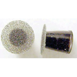 Composite sanding disks, Black coarse, mini (50/pk)