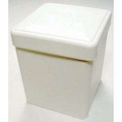Sponge dispenser 2 in. x 2 in. white