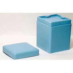 Sponge dispenser 2 in. x2 in. blue