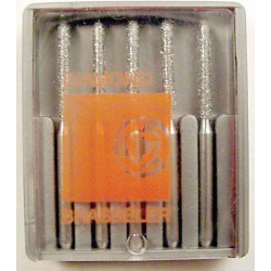Burs F.G. cutting diamond #6879-016 Mod bev cyl coarse (5pk)
