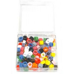 Color coded ring Kit - small, 120/assorted (12 colors)