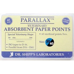Parallax paper point 60mm Set (#30 #35 #40) 20 ea sz