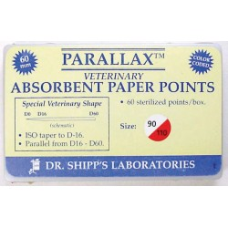 Parallax paper point 60mm Set (#90 #100 #110) 20 ea sz