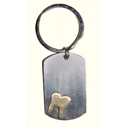 Keychain Tooth Tag