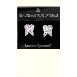 Earrings Large Tooth Cyrstal