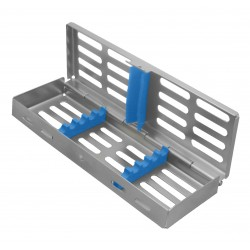 Sterilization Cassette 5 instrument w/fixed lid