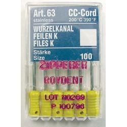 K-Files (21 mm) #100 (6 pk.)