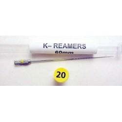 K-Reamers (60mm) #20 (1ea.)