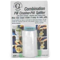 Pill crusher/splitter/container