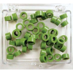 Color coded rings - small - 50 Green