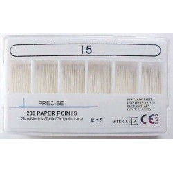 Paper point refills - 28 mm color coded #15