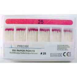Paper point refills - 28 mm color coded #25