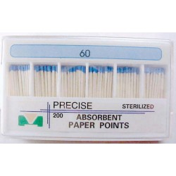 Paper point refills - 28 mm color coded #60