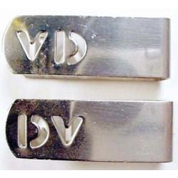 X-Ray film marker clips (SS) - VD/DV