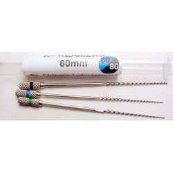 K-Reamers (60mm) assorted (#60, 70, 80) (3/pk.)